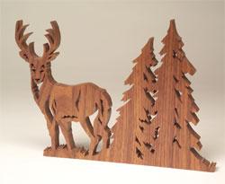 Fretwork-Deer
