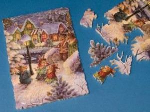 Carter's full-size puzzles contain between 250 and 450 individual pieces.